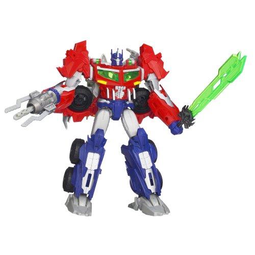 Transformers Prime Beast Hunters Voyager Class Optimus Prime Figurine 6,5 Pouces