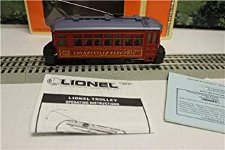 LIONEL - 18419- LIONELVILLE OPERATING TROLLEY CAR - 0/027- BOXED