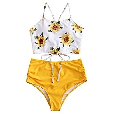 ?Fast Delivery 6-14 Days? Women's Halter Bikini Swimwear High Neck Two Piece Bikini Swimsuits