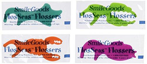 Practicon 7045281 SmileGoods FlosSeas Flossers, Singles...