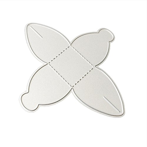 Metalen snijden Dies Handgemaakte DIY Stencils sjabloon reliëf nieuwe bloem hart snijden Dies ambachten Decor Card Gifts XXS C