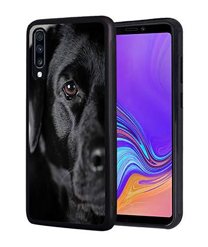Galaxy A10E Hülle, dünn, Kratzfest, TPU, Gummi, Schutzhülle für Samsung Galaxy A10E (2019), schwarzer H& Labrador