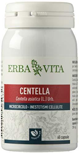 ERBA VITA Integratore Alimentare Di Centella - 60 Capsule, color Marrone