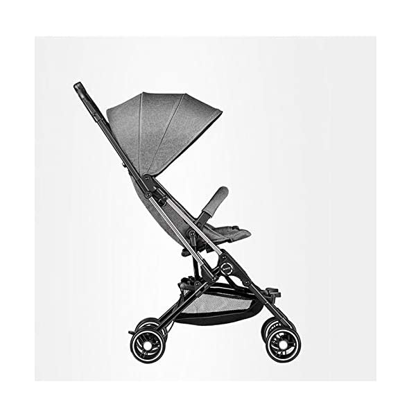 JXCC Baby Stroller Ultra Light Folding Child Shock Absorber Trolley Can Sit Half Lying 6 months-3 years old,25kg maximum -Safe And Stylish Red JXCC 1. {Four seasons are all} - Three sides of the net design, the awning can be adjusted at multiple angles, easy to cope with the sun 2. {Lightweight capsule car} - Weighs only 4.9kg, diamond car, can be on the plane, comfort zone baby 3. {3D Stereo Vibration} - X-frame design, evenly dispersing the upper weight, front wheel built-in suspension, rear wheel frame suspension 9