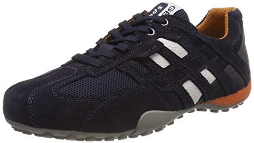 Geox Herren UOMO SNAKE K Sneaker, Blau, 41 EU