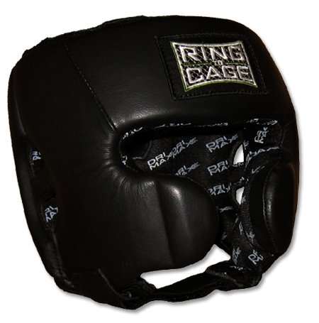 Ring to Cage Deluxe Sparring Headgear for Boxing, Muay Thai, MMA, Kickboxing-Large