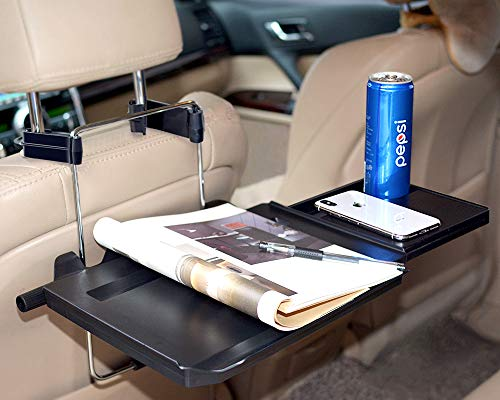 ElfAnt Car Steering Wheel Seat Tray for Writing Laptop Dining Food Drink Work