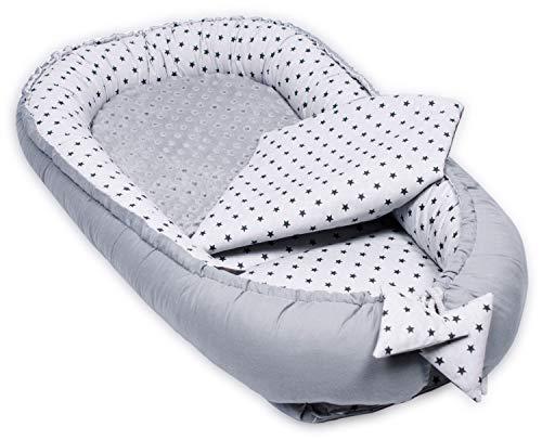 PALULLI Nid de bébé avec matelas supplémentaire Nest Pod Cocoon, nouveau-né Cocoon, dormeur double face, nid de bébé, positionneur de bébé, cadeau de fête prénatale, nid de sommeil moderne pour bébé