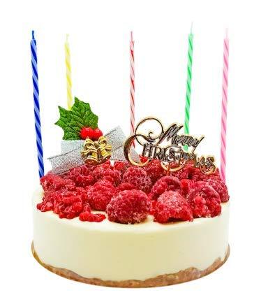 ISUPREME 低糖質 おいしい木苺クリスマスケーキ 【4号 2人~3人】 100%自然素材の幸せクリーム (ラズベリーチーズケーキ)