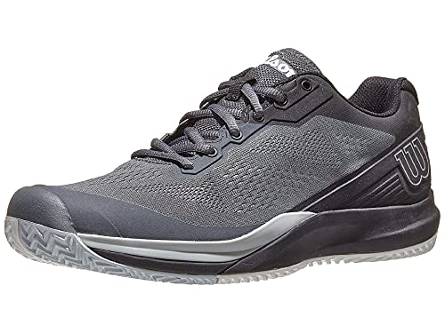 Wilson Men's Tennis Shoe, Turbulence Black Pearl Blue, 10