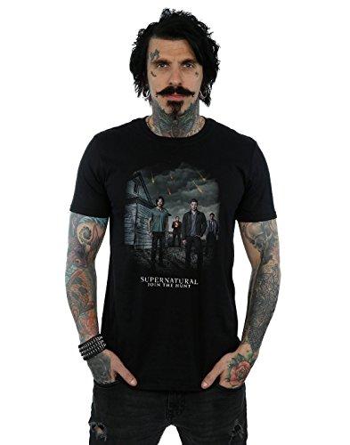 Supernatural Men's Meteor Shower T-Shirt XXX-Large Black