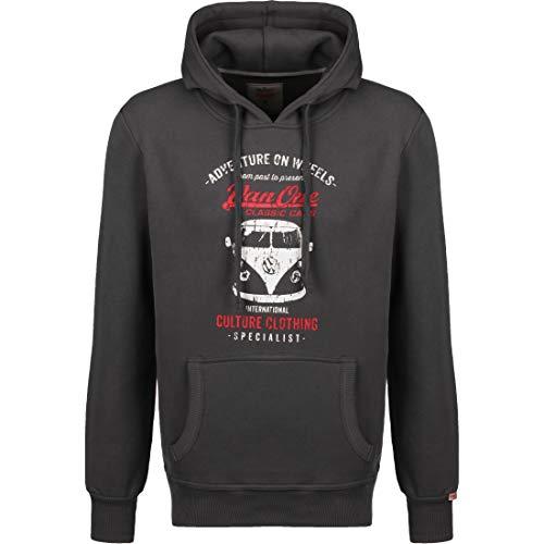 Van One Bulli Front Herren Kapuzen-Sweatshirt