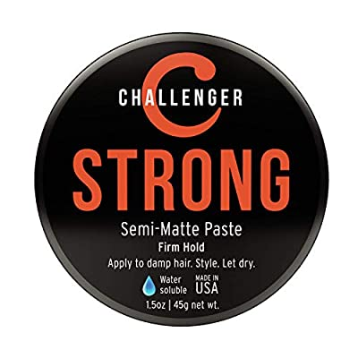 Challenger Strong - Semi-Matte Paste - Firm Hold (3oz + 1.5oz)