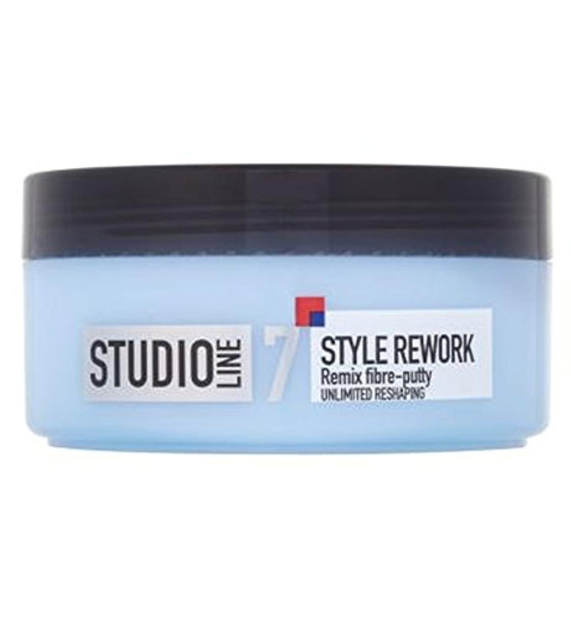 水分分子並外れたL'Oreall Studio Line Style Rework Remix Fibre-Putty 150ml - L'Oreallスタジオラインスタイルリワークリミックス繊維パテ150ミリリットル (L'Oreal) [並行輸入品]