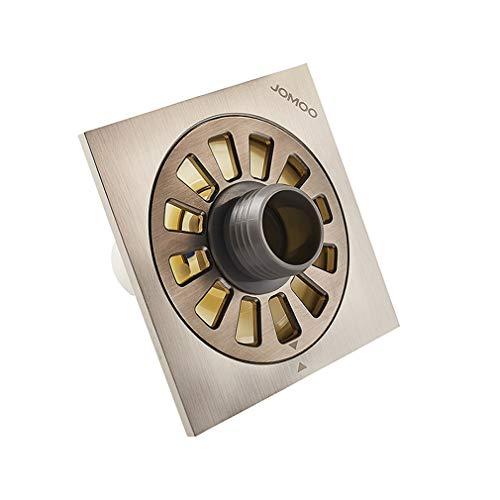 ZTHC koper legering deodorant slijtvast anti-corrosie wasmachine vloer afvoer te verhogen holle paneel drievoudig verzegeld nikkel geborsteld oppervlak behandeling