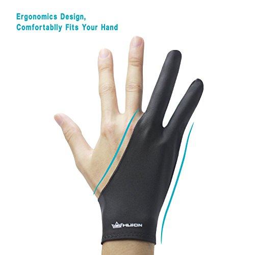 Huion Antifouling-Handschuh für Grafiktabletts - 4