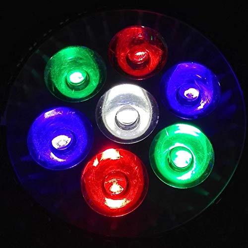 E27 LED Aquarium lamp, AC85-265 V, 15 W/21 W/27 W/36 W/45 W/54 W, waterplanten cultiveren licht voor de verlichting van het aquarium (1 stuks), 2r 2g 2b 1w