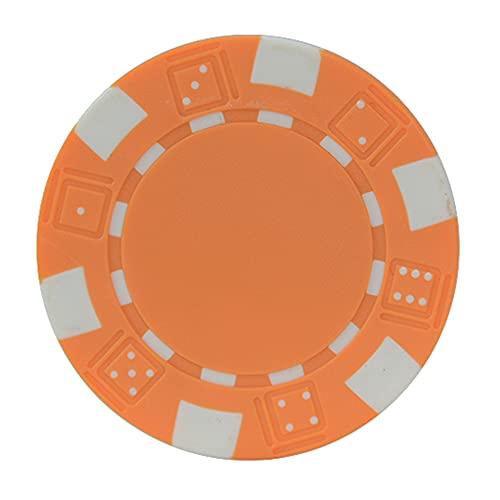 YYHJ Fichas Poker,Juego de póquer de plástico,Compuesto de Arcilla de 11,5 Gramos,Mini ficha de póquer,para Juegos de niños,Aprendizaje de conteo de matemáticas,Juego de...