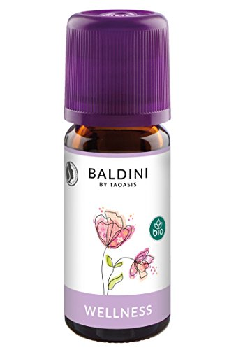 Baldini - Wellness Raumduft BIO, 100% naturreines Duftöl, 10 ml