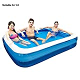 Dedeka Piscina Hinchable,Family Lounge Pool Engrosada Piscina Hinchable Familia Pool,110/128/155/181/200/262/305 cm