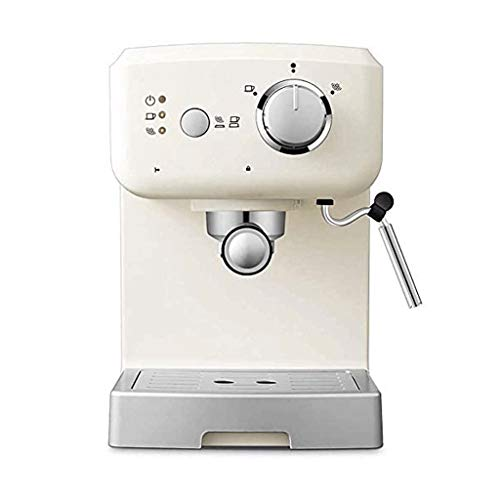 Nologo LYKYL 15 Bar Espresso Machine, Stainless Steel Compact Espresso Maker with Milk Frother Wand, Professional Coffee Machine for Espresso, Cappuccino and Latte