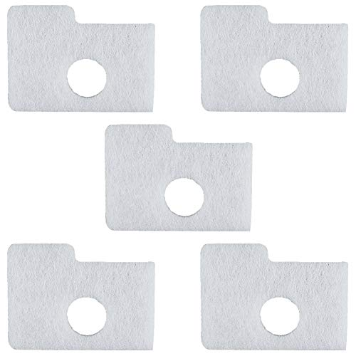LOCOPOW 5 Pack Air Filter 1130-124-0800 Replacement for Stihl MS170 MS180 MS170C MS180C 017 018 Chainsaw # 11301240800