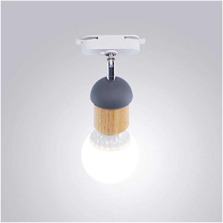 ahorre 60% de descuento  Tubo de de de lámpara de Techo Luz de Techo Moderna Creativa E27 Madera Hierro Ajustable Salón Decoración Mural Iluminación Corrojoor Fondo Parojo Lámparas de techo-1 3 4 Jefes Lámpara de Techo  calidad de primera clase