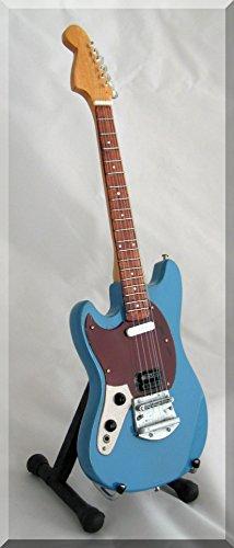 KURT COBAIN Miniatura Guitarra BLUE NIRVANA