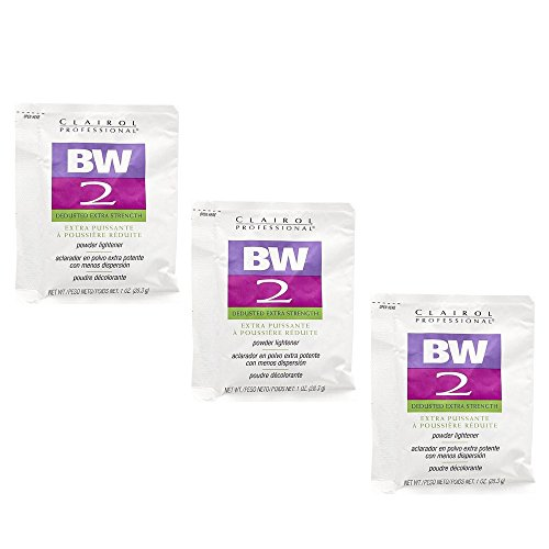 Clairol BW2 Extra Strength Powder Lightener 1 oz (3 Pack) 3 x HC-CRL320830