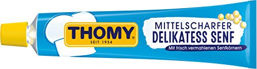 Thomy Delikatess Senf, 20er Pack (20 x 100 ml)