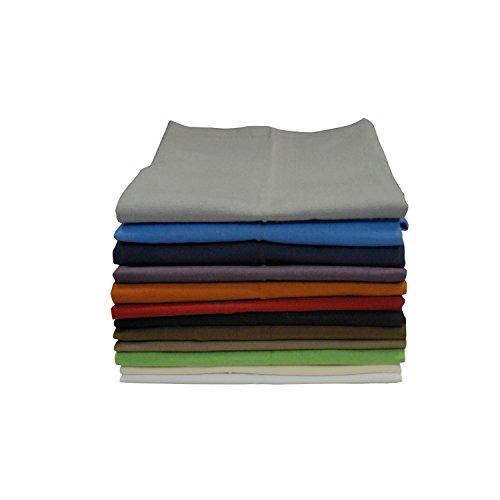 Winkler - Serviette de table Unie – 50x50 cm – 100% coton - Linge en tissu, serviette de cuisine réutilisable - Douce et absorbante