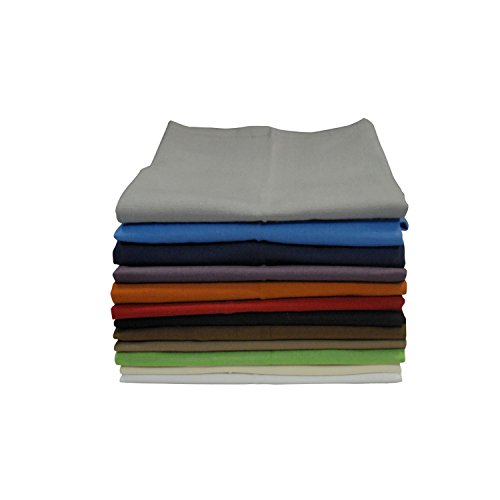 Winkler - Serviette de table Unie - 50x50 cm - 100% coton - Linge en tissu, serviette de cuisine réutilisable - Douce et absorbante