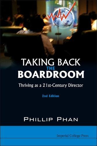 TAKING BACK THE BOARDROOM: THRIVING AS A 21ST-CENTURY DIRECTOR (2ND...