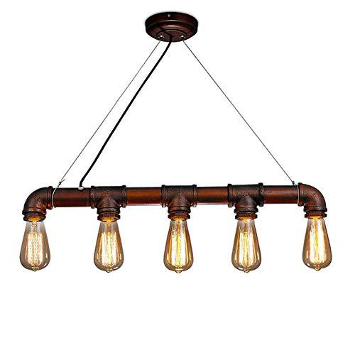 Industrielle Kronleuchter Real Pipe Hanging Leuchten Vintage LOFT Wasserpfeife Pendelleuchte Für Küche Esszimmer Foyer Billardtisch