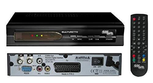 Cobra Furetto - Reproductor/sintonizador (Cable, PAL, DVB-S, MPEG2, 100-240 V, 50/60 Hz) (Importado)