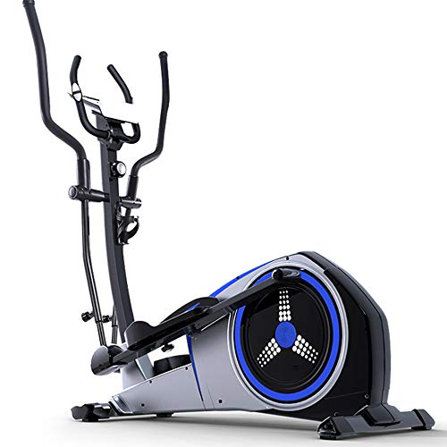 3 in 1 Professional Elliptical Cross Trainer, Cardio Home Office Fitness Workout Machine with Quiet Brake System for All Ages Max User Weight 150 Kg