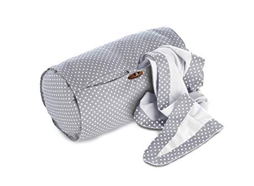 Theraline Plus - Rollo de lactancia, incluye protección solar y de miradas indiscretas, color gris