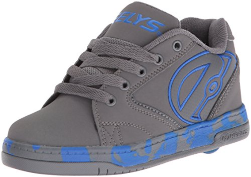 Heelys Jungen Propel 2.0 Skate-Schuhe, Grey/royal EU38