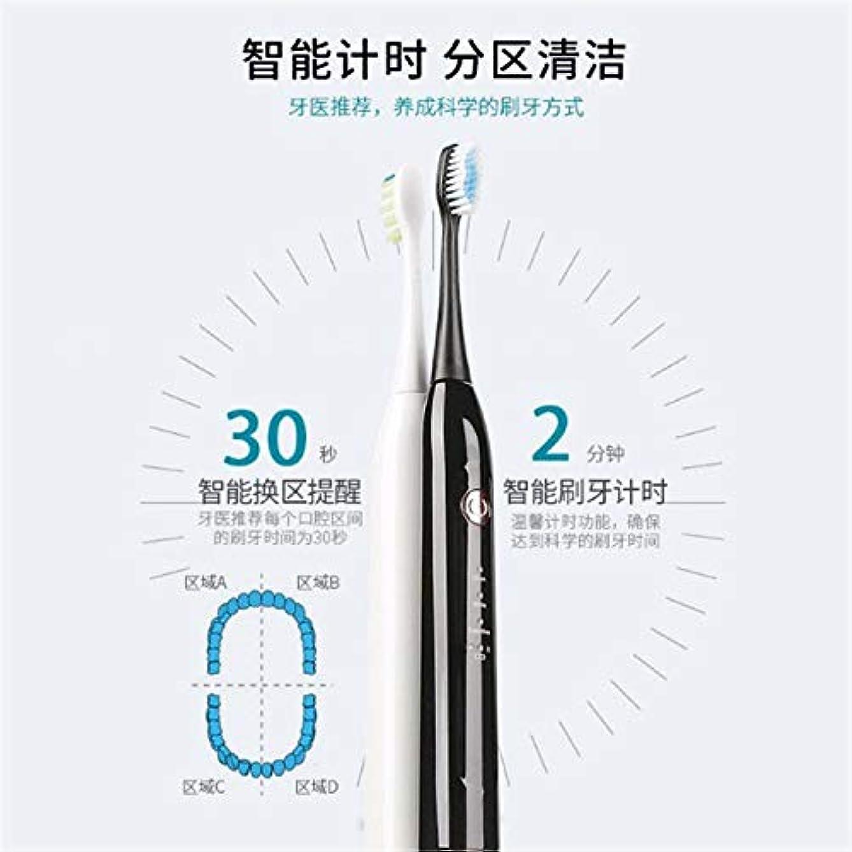 はっきりとジャンク名前を作るワイヤレス誘導 電動歯ブラシ 大人の音波が歯を振動させる、高品質の毛の歯ブラシ