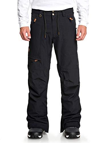 Quiksilver Mens Elmwood - Snow Pants for Men Snow Pants Black L