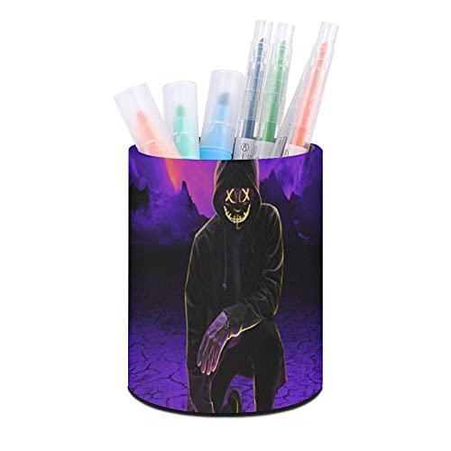 Negro sudadera con capucha Neon Shade pen holder, organizador de escritorio, taza de bolígrafo, organizadores de escritorio de oficina y accesorios