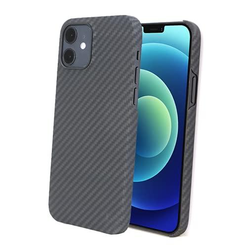 LEIRISCH Schutzhülle Aramid Faser kompatibel mit Apple iPhone 12 | 12 Pro – ultradünn,...