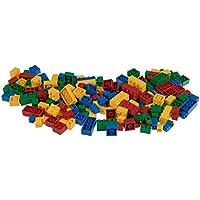 Strictly Briks - Set de Ladrillos de construcción y una Base - 216 Piezas de 4 Colores Diferentes - Piezas Sueltas - Compatible con Todas Las Grandes Marcas
