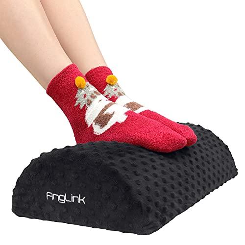 AngLink Fußstütze unter Schreibtisch ergonomisches Fußablage verstellbar Footrest Under Desk Fußbank für Büro Home Gaming