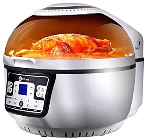 10L Freidora De Aire,6 Programas,Temporizador Y Control De Temperatura Ajustable Para Cocinar Sin Aceite Saludable O Con Poca Grasa,1300w