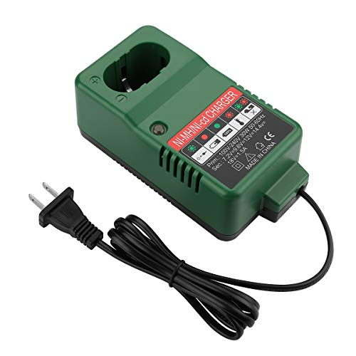 POWER-XWT 1.5A 7.2V-18V Cargador Ni-MH Makita 1220