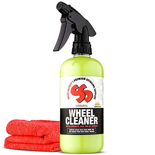 Shine Society Wheel Cleaner, Heavy Duty Strength for...
