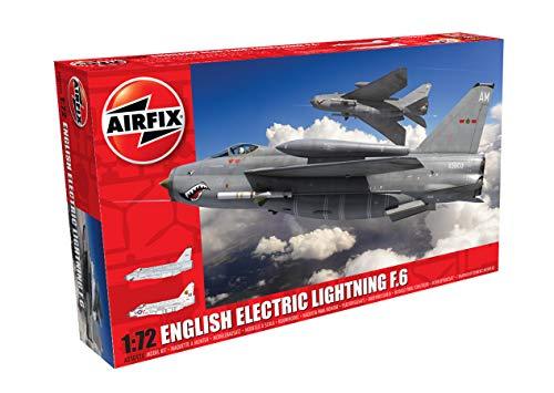 エアフィックス 1/72 イギリス空軍 イングリッシュ エレクトリック ライトニング F6 戦闘機 プラモデル X-5...