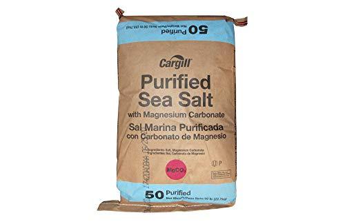 Compass Minerals NASC SM-1931 Water Softener Salt Pellets, 50 Lb. Bag - Lot of 49