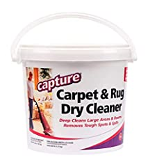 Safe for all types of carpets including Wool and Code S fabric, silk, surfaces and material. Spots do not reappear. Re-sealable lid, easy storage container. Prolong life of carpet and fabrics. Combine with Capture Pre-Mist (sold separately) for very ...